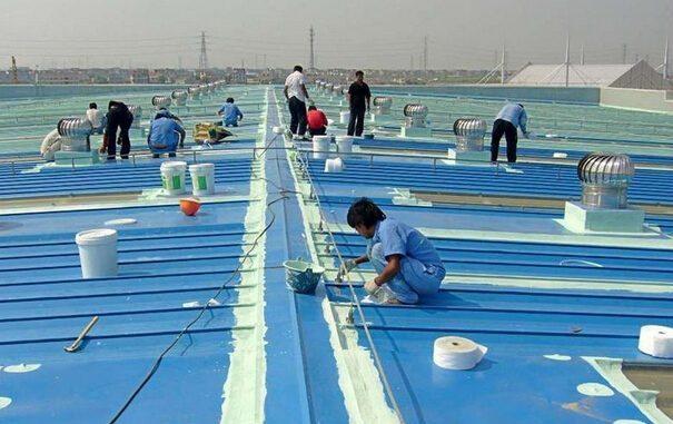 Dịch vụ chống thấm dột tại trần cung đội ngũ nhân viên chuyên xử lý chống thấm mái nhà,sàn nhà mái nứt nẻ chuyên nghiệp nhất