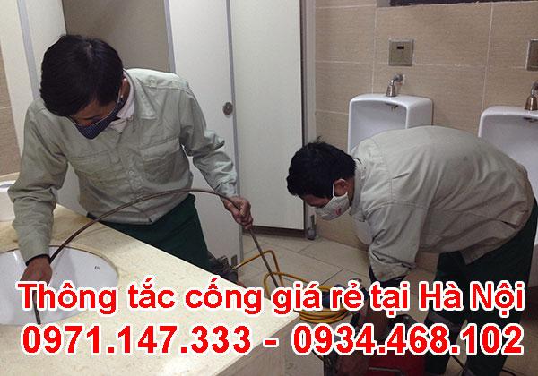 Thông tắc vệ sinh tại Trung Kính 0971.147.333 chuyên nghiệp