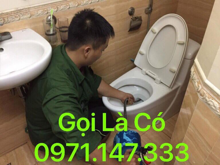 Thông tắc bồn cầu tại Hạ Đình 0971.147.333 - Thông bể phốt