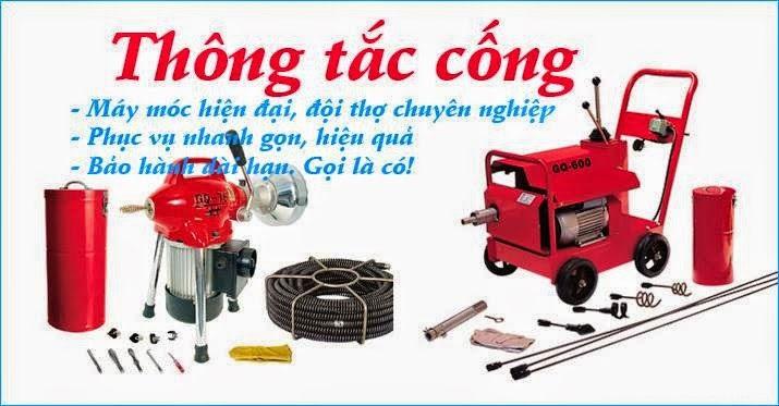 Thông tắc cống tại Nguyễn Trường Tộ 0971.147.333 Triệt Để