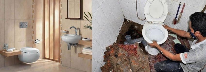 Chống thấm nhà vệ sinh tại Đê La Thành 0836.418.555 - Triệt Để 100%
